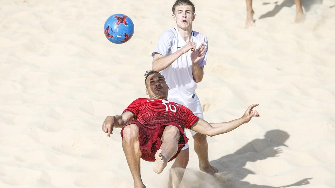 Belchior mostra os bastidores da Seleção portuguesa de futebol de praia