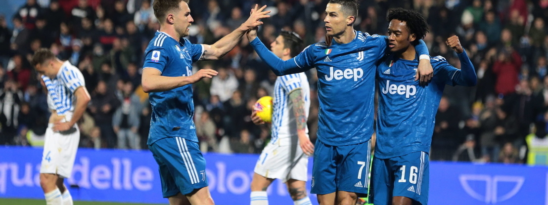 Juventus vence com Ronaldo a marcar pelo 11.º jogo consecutivo