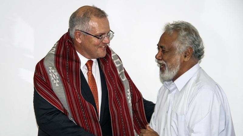 Xanana Gusmão diz que conciliação fronteiriça entre Timor-Leste e Austrália pode ser exemplo