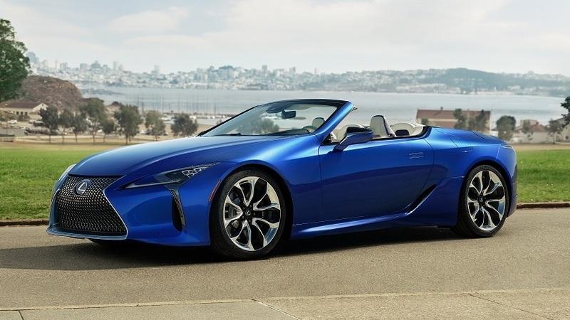 Novo Lexus LC 500 descapotável chega no versão de 2020