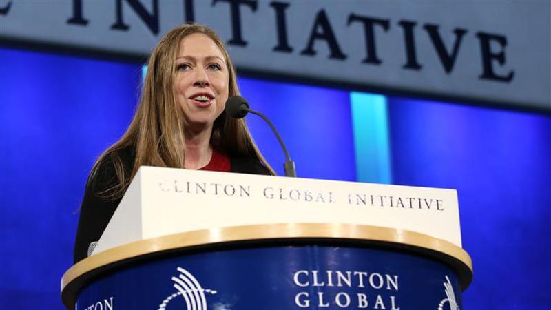 Chelsea Clinton defende filho de Trump