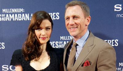 Rachel Weisz e Daniel Craig esperam o primeiro filho em comum