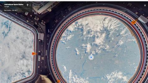 Olá Espaço! O céu não é o limite para o Street View