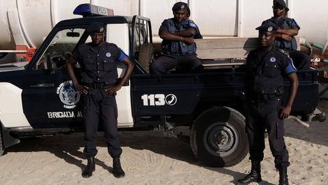Nove agentes da polícia nacional feridos em capotamento de viatura