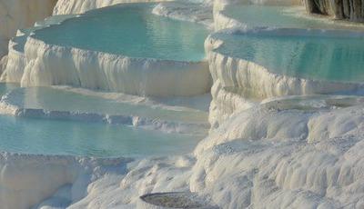 Turquia: as fabulosas piscinas termais de Pamukkale