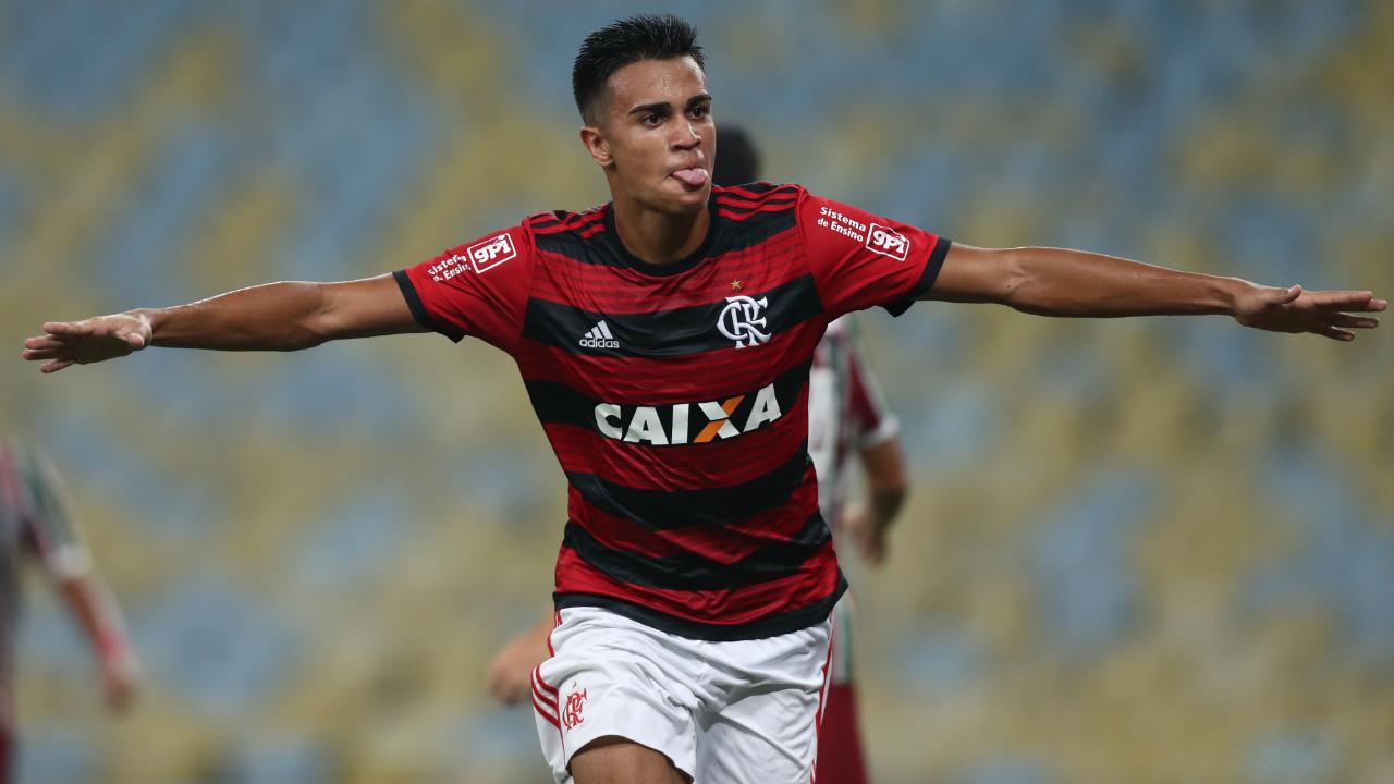Flamengo veta presença de Reinier na seleção brasileira sub-17
