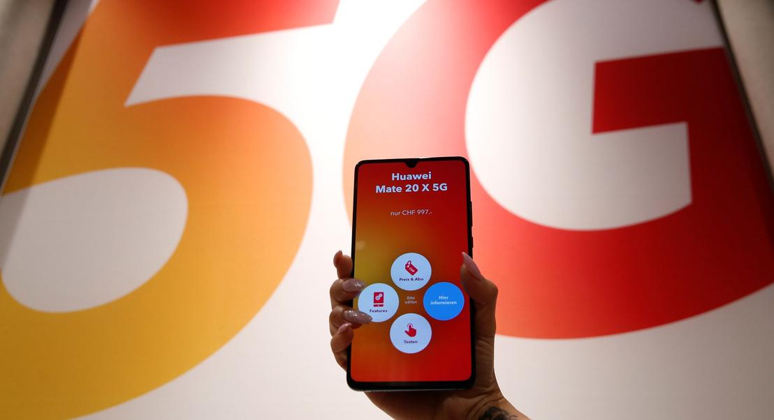 Huawei e operador suíço Sunrise atingiram 3,76 Gbps de download e estabelecem recorde de velocidade 5G
