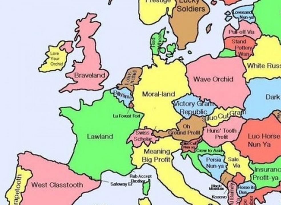Estes mapas mostram várias curiosidades sobre todos os países do mundo