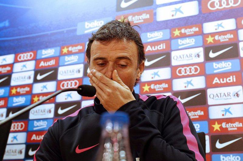 """Luis Enrique: """"Guardiola ou Manchester City não são uma ameaça aos nossos jogadores"""""""