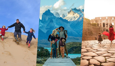 Estas famílias viajam pelo mundo e mostram tudo no Instagram