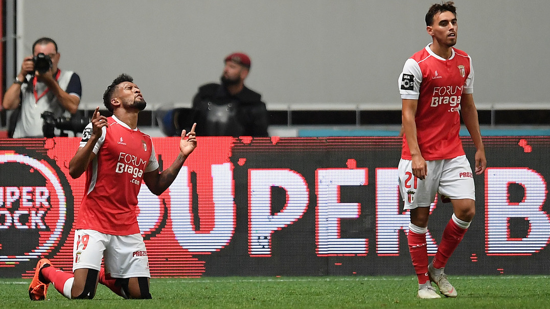 O resumo da vitória do SC Braga sobre o Sporting
