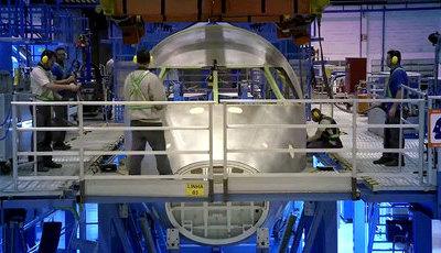 Veja num minuto como se construiu o primeiro jato E190