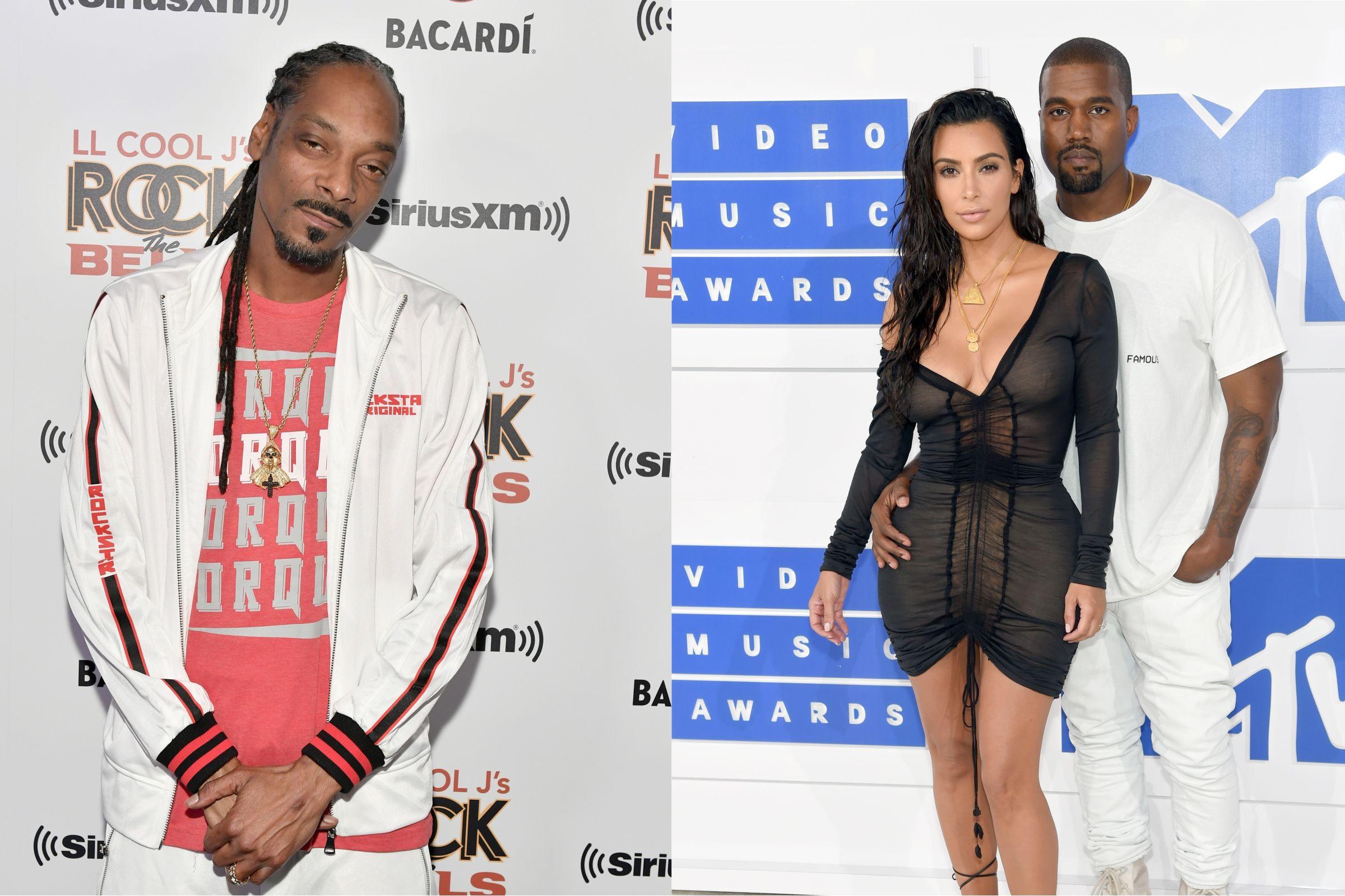 Snoop Dogg diz que Kanye West deveria ter mulher negra na sua vida