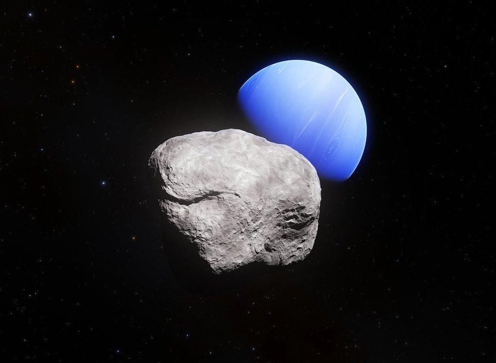 Neptuno. A última e mais pequena lua descoberta já tem nome