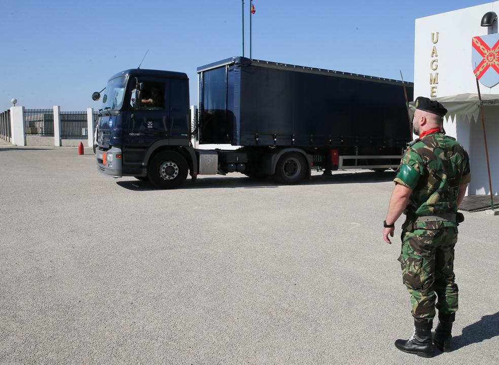 Tancos: Três militares detidos hoje passam a noite em celas da GNR em Lisboa