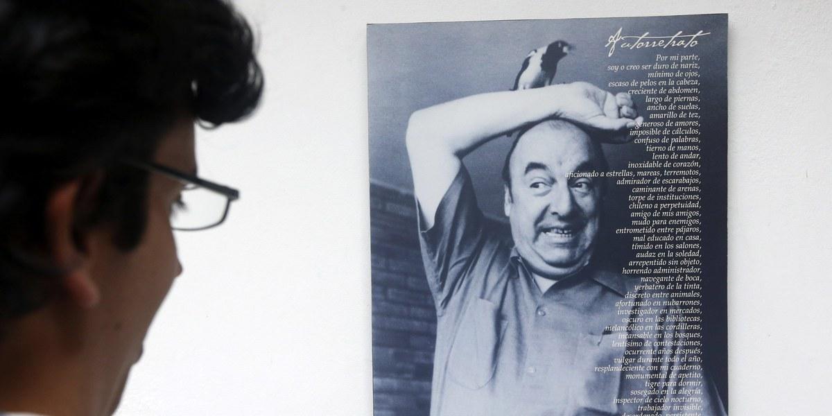 Causa da morte de Pablo Neruda não foi cancro na próstata, revela investigação