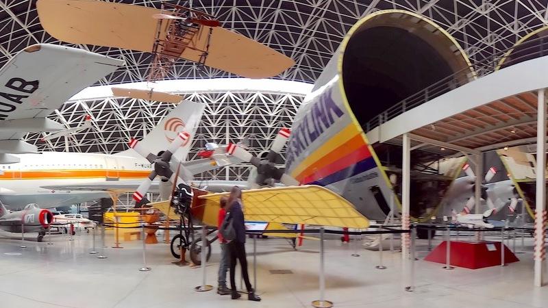 Museu Aeroscopia em Toulouse: dos aviões icónicos aos gigantes dos ares