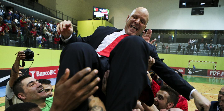 """Jorge Braz: """"Foi um ano fantástico para o futsal português"""""""