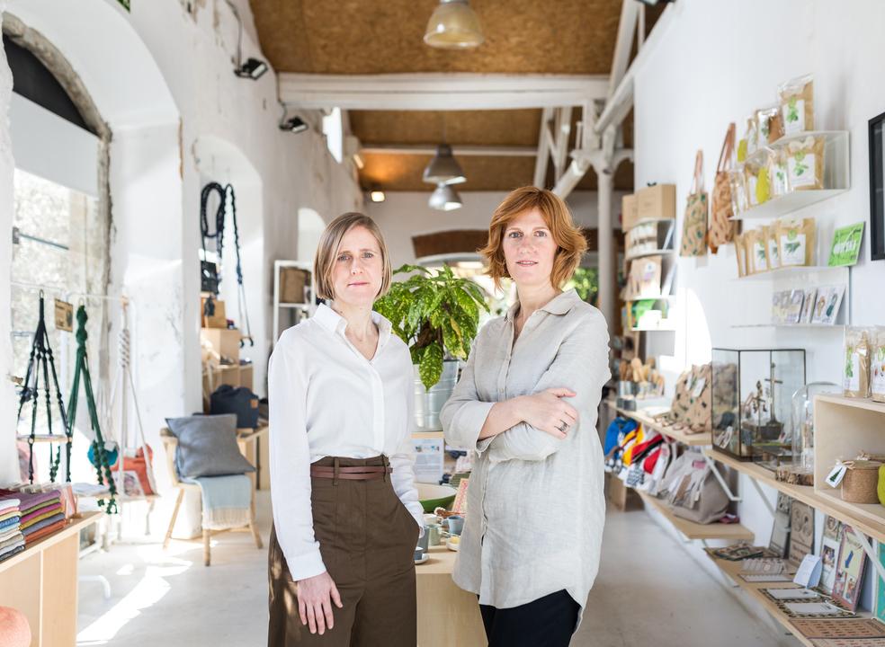 Rita e Cátia apostaram na cosmética biológica e são um caso de sucesso em Portugal