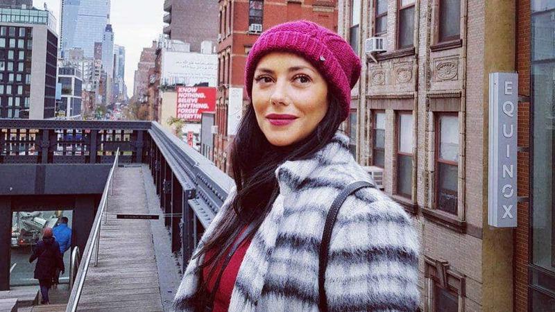 Sofia Ribeiro mostra look escolhido para os International Emmy Awards