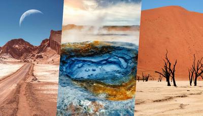 9 destinos únicos para se sentir noutro planeta