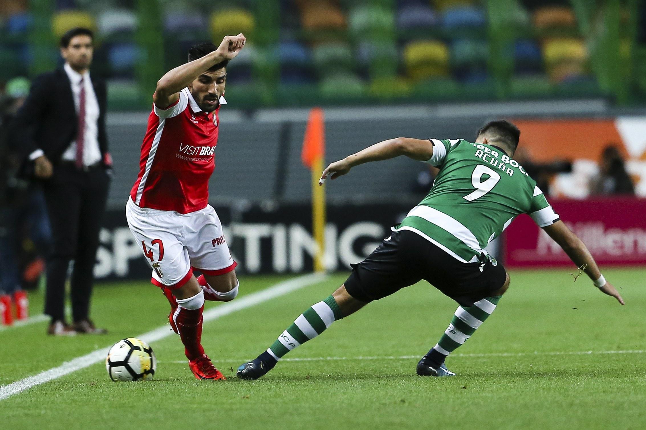 Braga visita Alvalade com o segundo lugar do Benfica no horizonte