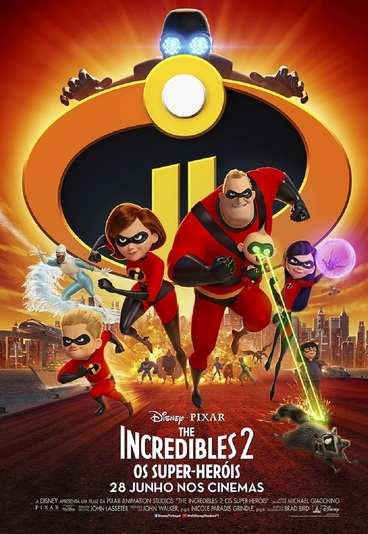 """The Incredibles 2: Os Super-Heróis"": ganhe convites para as antestreias"