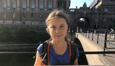 """Right Here, Right Now"": Fatboy Slim presta homenagem a Greta Thunberg com remistura"