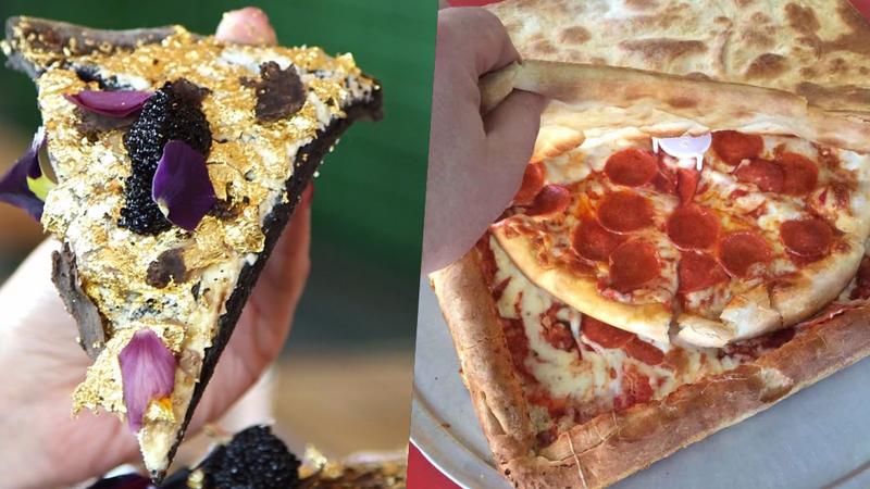 De uma pizza coberta de ouro a uma regada com tequila: as 10 pizzas mais extravagantes do mundo