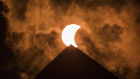 Eclipse total nos Estados Unidos