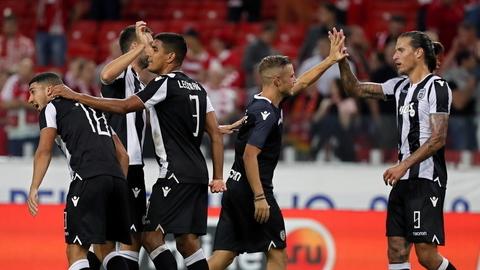 Champions: PAOK será o adversário do Benfica no 'play-off'