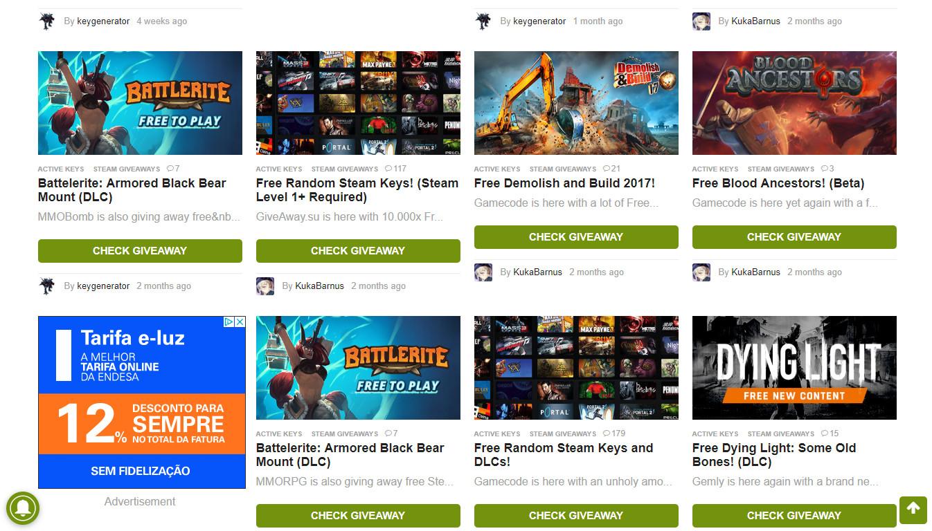 Ganhe jogos gratuitos em website de passatempos - Site do dia - SAPO Tek