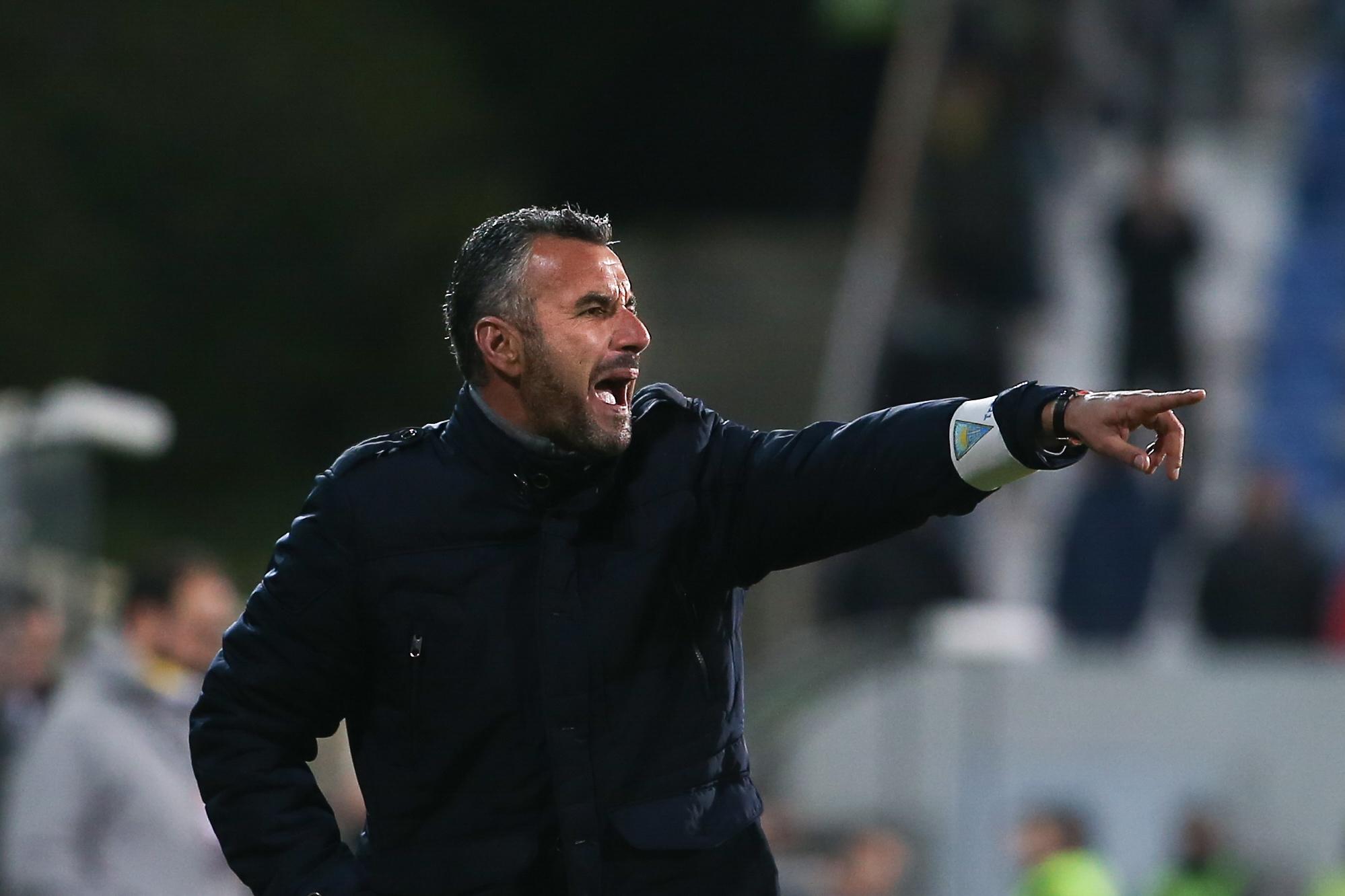 """Ivo Vieira pede coragem e determinação para embate """"difícil"""" diante do Benfica"""