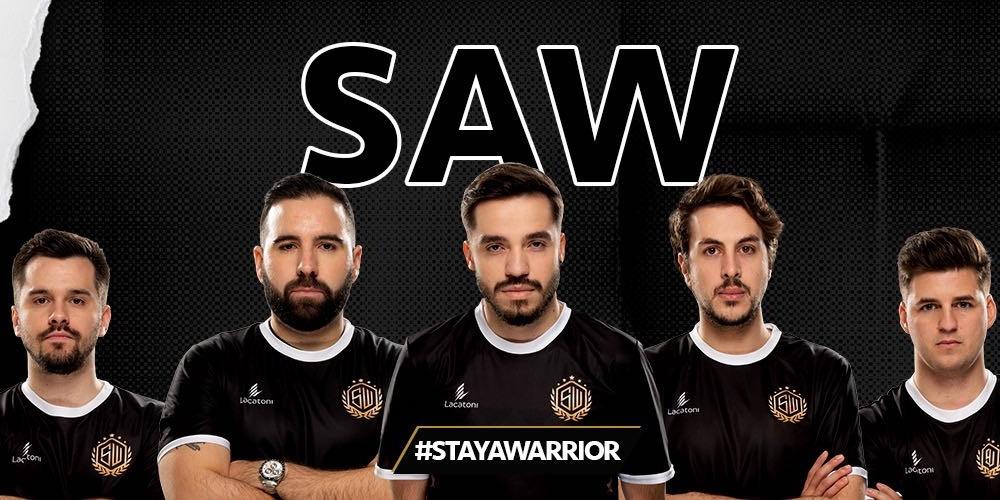 sAw vence Movistar Riders por 3-0 na final da RTP Arena Cup e assegura lugar na BLAST Premier Showdown
