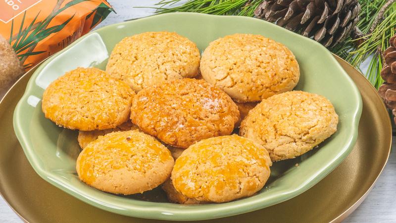Acrescente estes biscoitos de azeite à sua ceia de Natal!