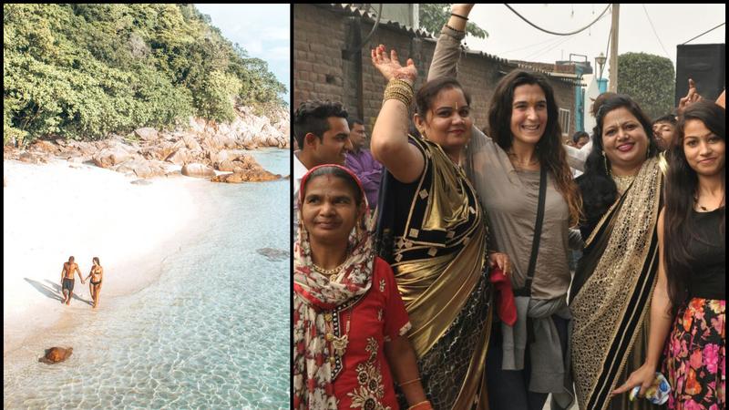 As minhas viagens de sonho. De perdidos na selva a um casamento indiano