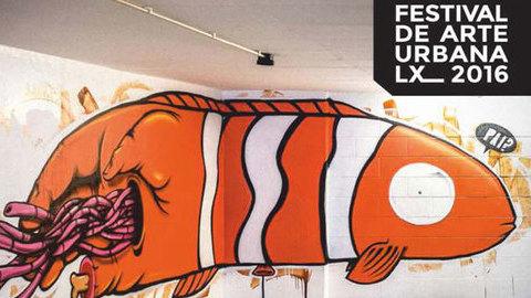 Lisboa acolhe o seu primeiro Festival de Arte Urbana