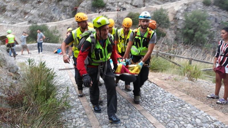 Cinco pessoas morrem em inundação em reserva natural no sul de Itália