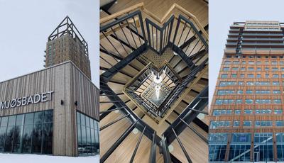 Este é o edifício de madeira mais alto do mundo
