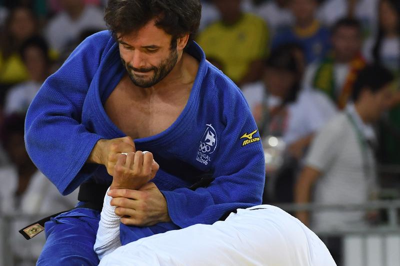Judoca Sergiu Oleinic foi quinto em Dusseldorf