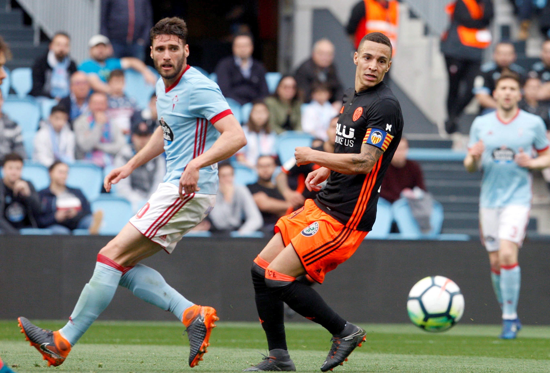 Valência não foi além de um empate a 1-1 com o Celta de Vigo