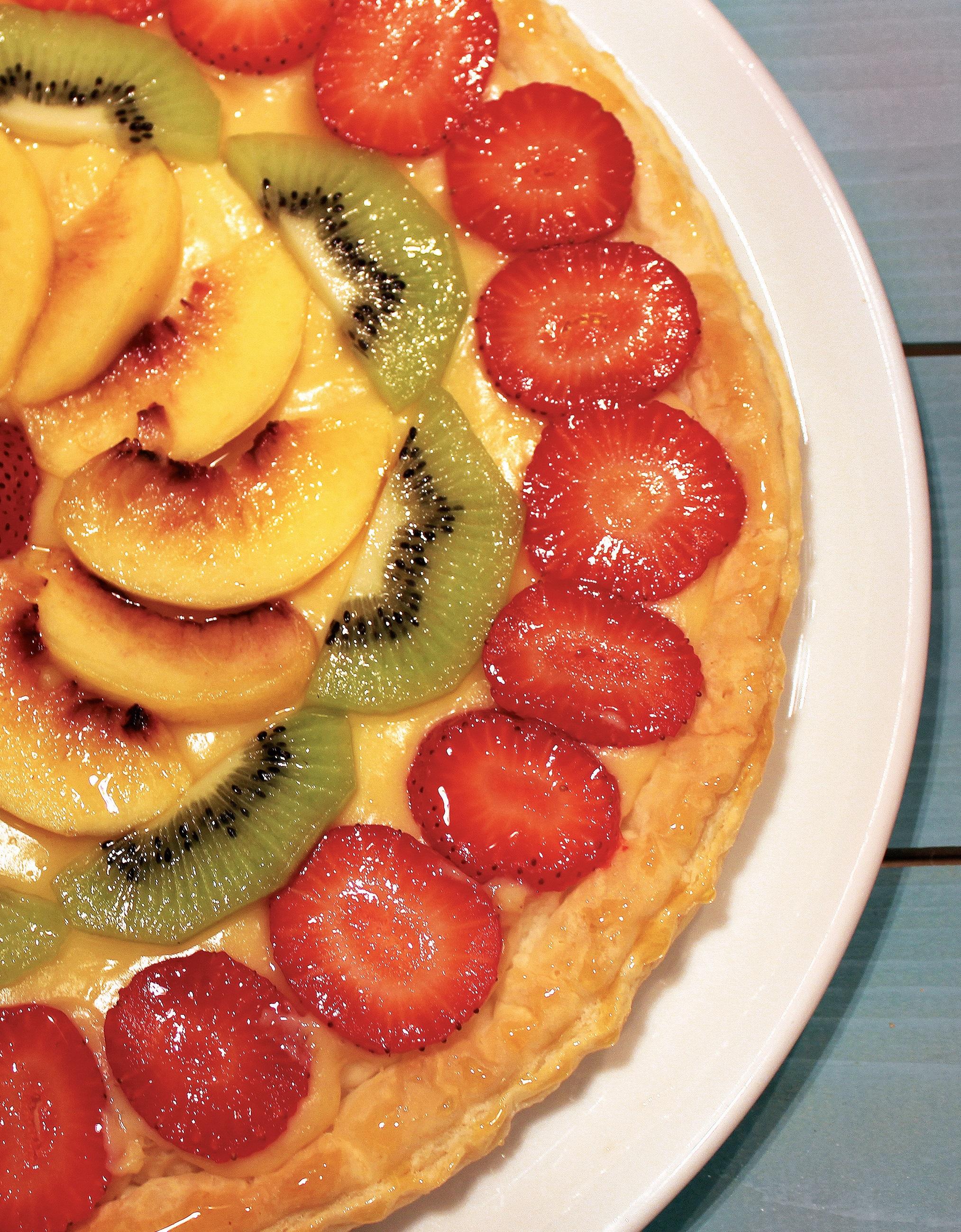 Tarte fresca de fruta