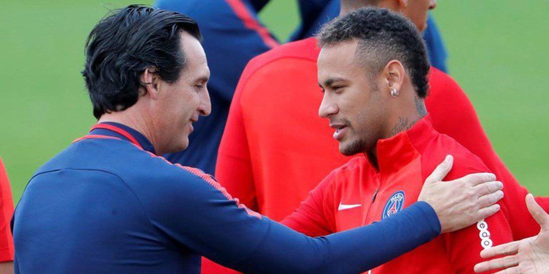 Novo caso no PSG. Neymar desentende-se com o treinador Emery