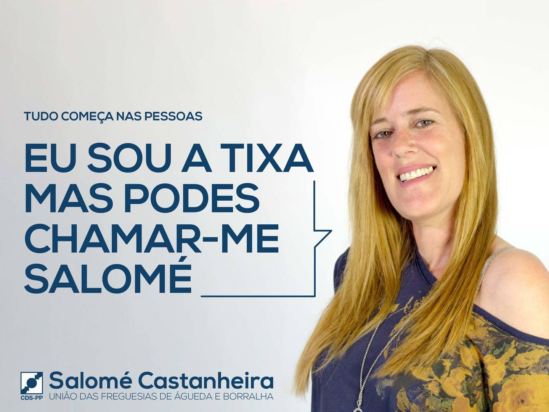 """""""Mas podes chamar-me Salomé"""". Começou tudo nas pessoas, mas foi parar ao Facebook"""