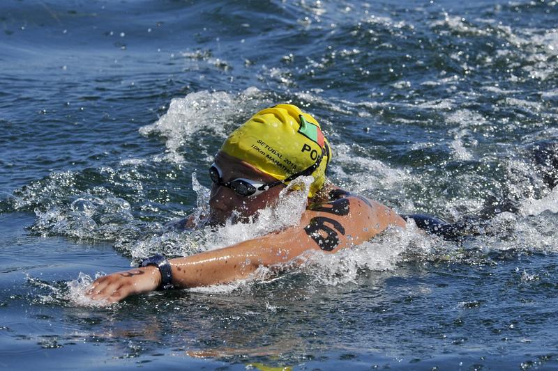 Angélica André oitava na 'maratona' de águas abertas de Setúbal