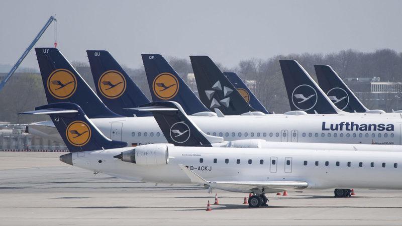 Lufthansa chega a acordo com governo alemão para resgate