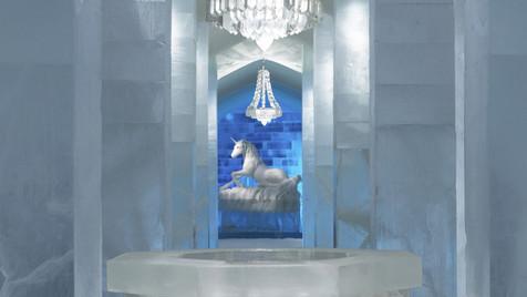 Uma noite no hotel do gelo