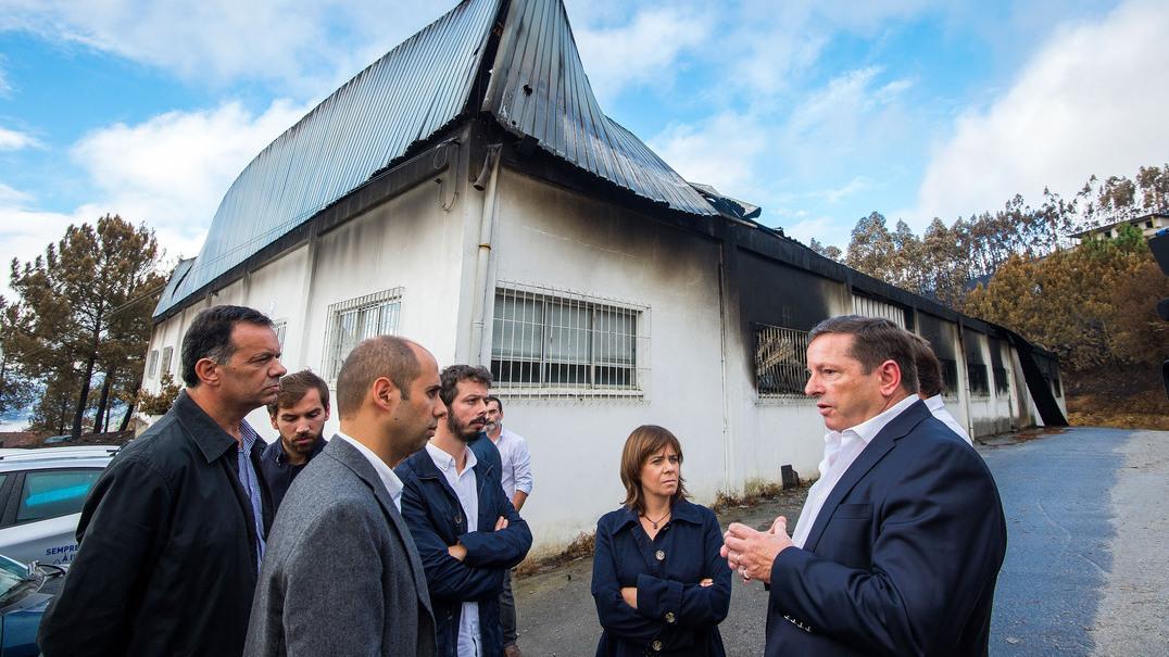 Catarina Martins visita zonas afetadas pelos incêndios
