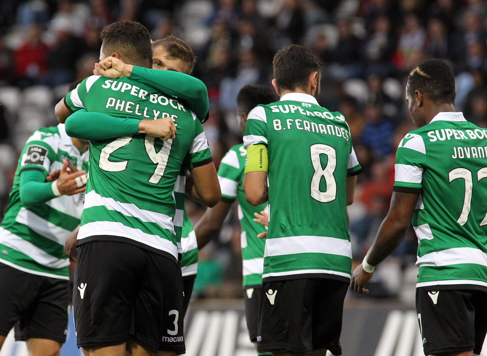 Sporting vence Nacional pela margem mínima e soma a 7.ª vitória consecutiva no campeonato