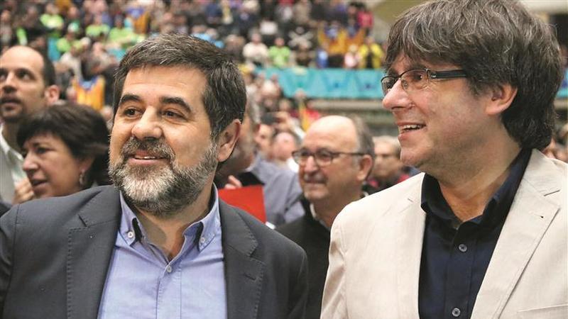 Jordi Sànchez. 'Este é um julgamento político. É o julgamento  da democracia em Espanha'